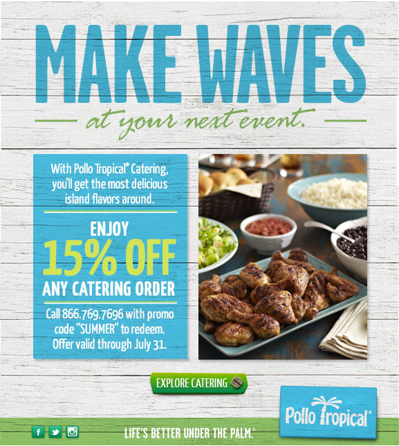 picture regarding Pollo Tropical Printable Coupons referred to as Pollo tropical discount coupons printable on the internet August 2019