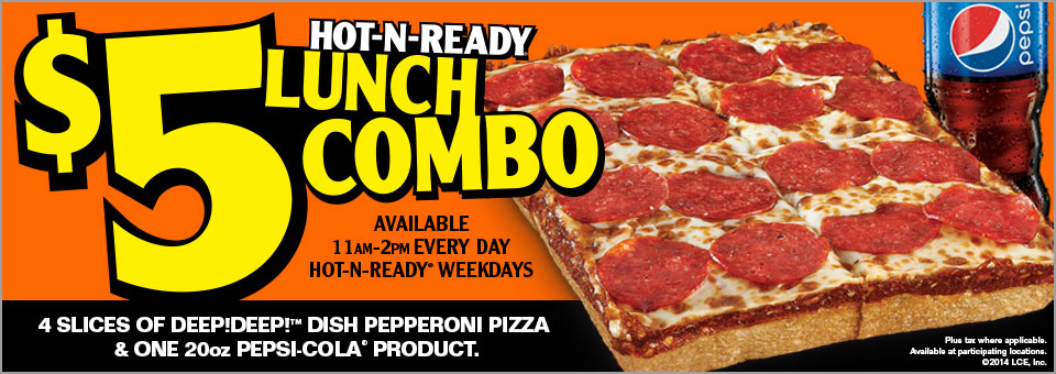 Lil ceaser pizza coupons