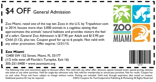 Cincinnati zoo discount coupons