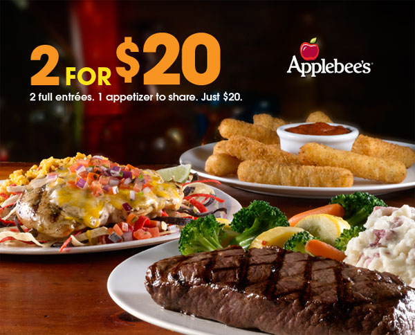 Applebees deals coupons