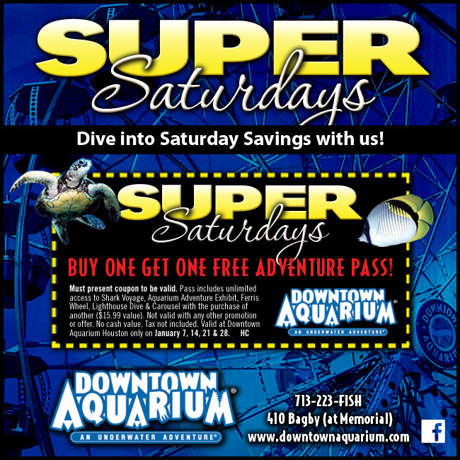 Denver Zoo Free Days: Downtown Aquarium Coupons
