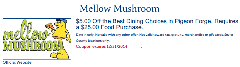 image about Mellow Mushroom Printable Coupons identify Mellow Mushroom printable discount codes codes August 2019