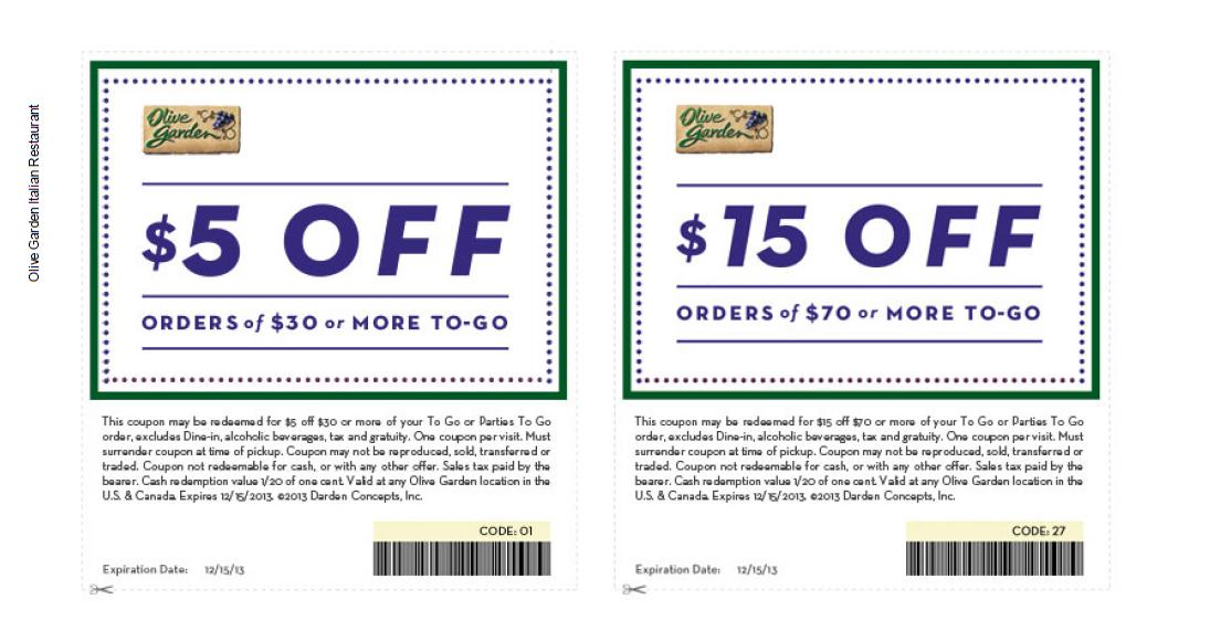 graphic regarding Olive Garden Printable Menu identify Olive backyard discount codes for august 2018 : Anaheim vacation resort rv park
