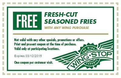 photograph regarding Wingstop Coupons Printable named Wingstop discount coupons printable codes August 2019