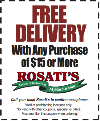 Rosati's Pizza Coupons, printable coupons codes | July ...